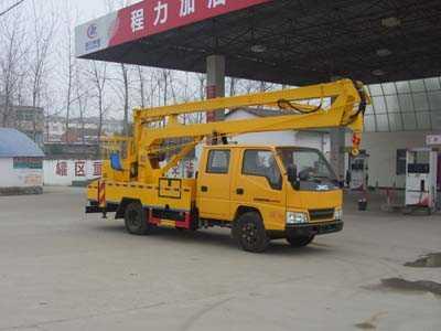 国五江铃双排座高空作业车
