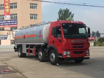国五解放小三轴20方加油车