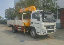 程力威牌CLW5166JSQN5型随车起重运输车