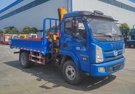 程力威牌CLW5043JSQN5型随车起重运输车