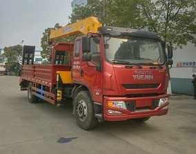 程力威牌CLW5167JSQN5型随车起重运输车