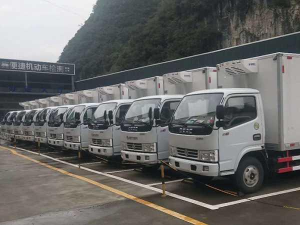 东风多利卡4.2米冷藏车价格13.59~14.99万